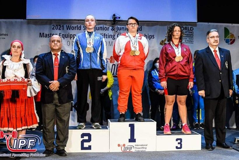 Eestlased olid jõutõstmise maailmameistrivõistlustel edukad