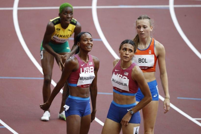 VÄGEV: ameeriklanna parandas naiste 400 meetri tõkkejooksu maailmarekordit