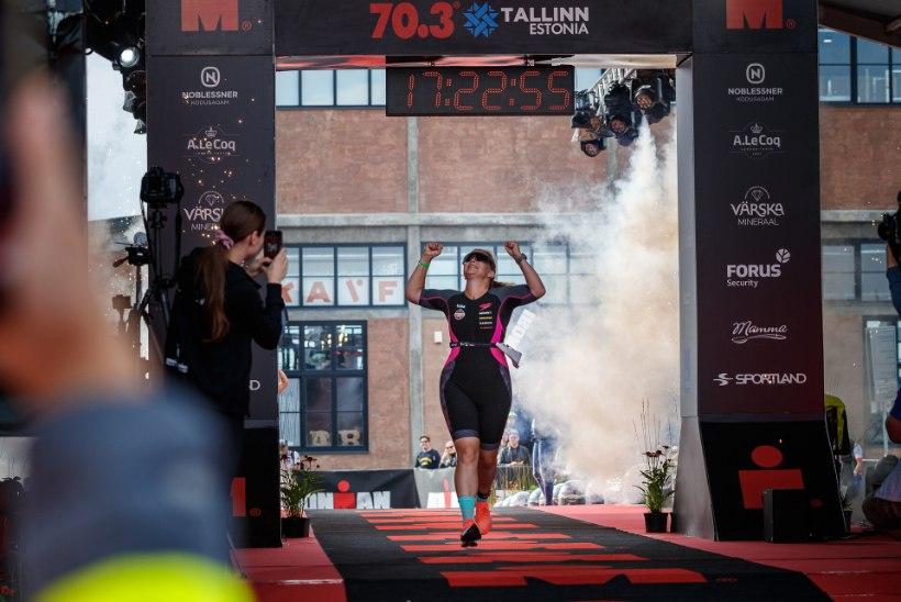 TOHUTU ENESEÜLETUS! Luisa Rõivas Ironmani läbimisest: väga palju naisi on minult innustust saanud