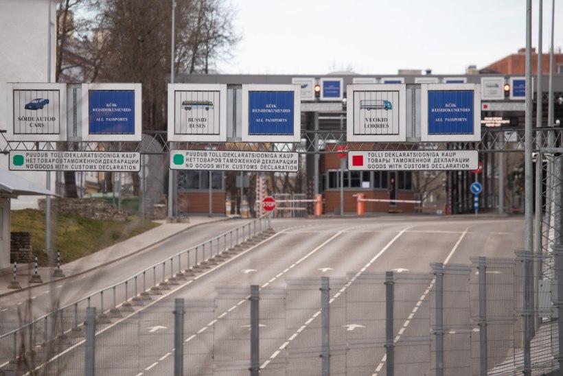 Vene piirilt saadeti tagasi 240 inimest