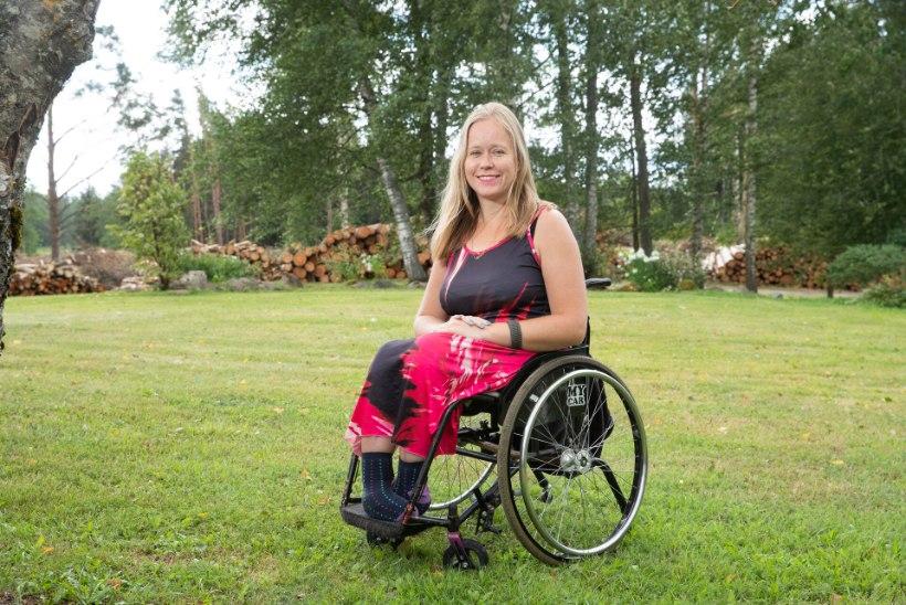 """Terve elu ratastoolis olnud Helen: """"Uus mina sai alguse kuus aastat tagasi, mil käisin esimest korda puuetega inimeste laagris."""""""