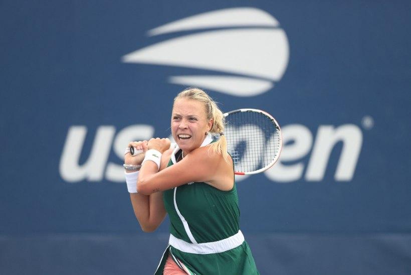 HÄSTI! Kontaveit alustas US Openit kindla võiduga kogenud austraallanna üle
