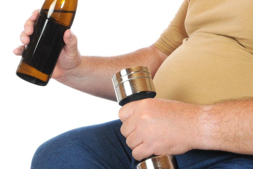 Karm tõde harrastussportlastele: üks joodud pudel võrdub kolme raisatud treeninguga