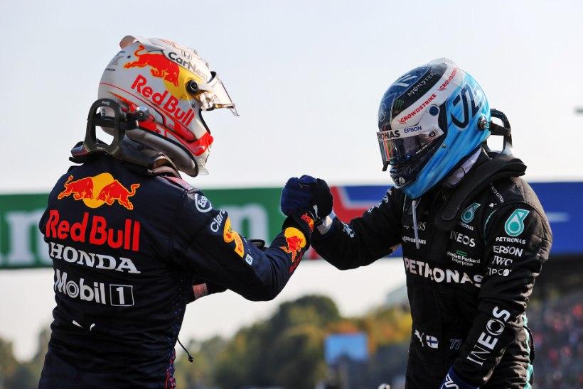 Monza GP sprindi võitis Bottas, Hamilton põrus