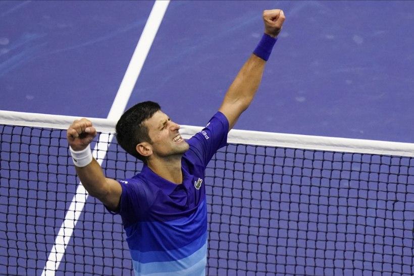 VIDEO   Pika lahingu järel finaali jõudnud Djokovic on rekordi purustamisest ühe võidu kaugusel