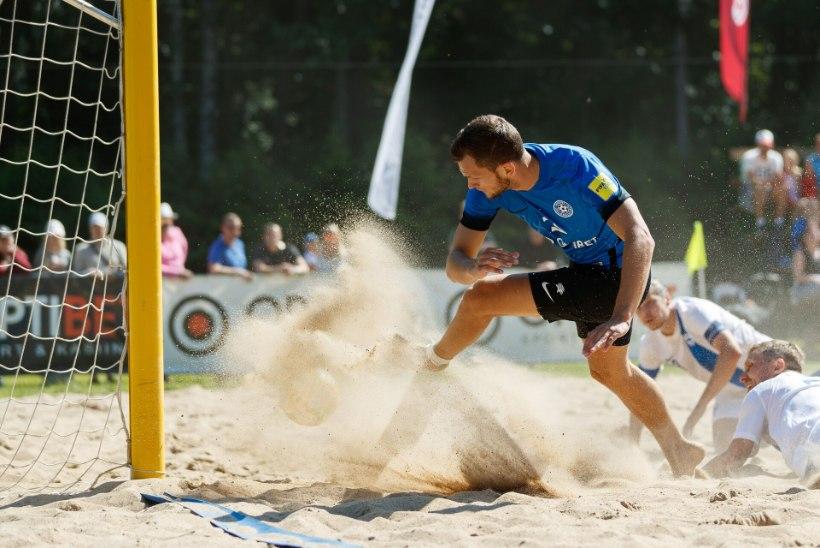 Eesti rannajalgpallikoondis tõusis esmakordselt Euroopa eliitseltskonda!