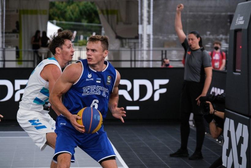 Eesti 3 × 3 kossukoondis jäi veerandfinaalis Venemaale alla