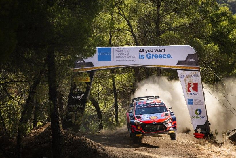 RALLIBLOGI | Ka viimasel katsel probleemidega võidelnud Tänak sai Kreekas teise koha