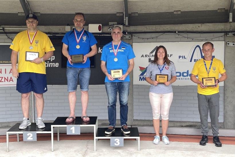 Eesti tehnikasportlased võitsid EMil kolm kulda ja meeskondliku esikoha