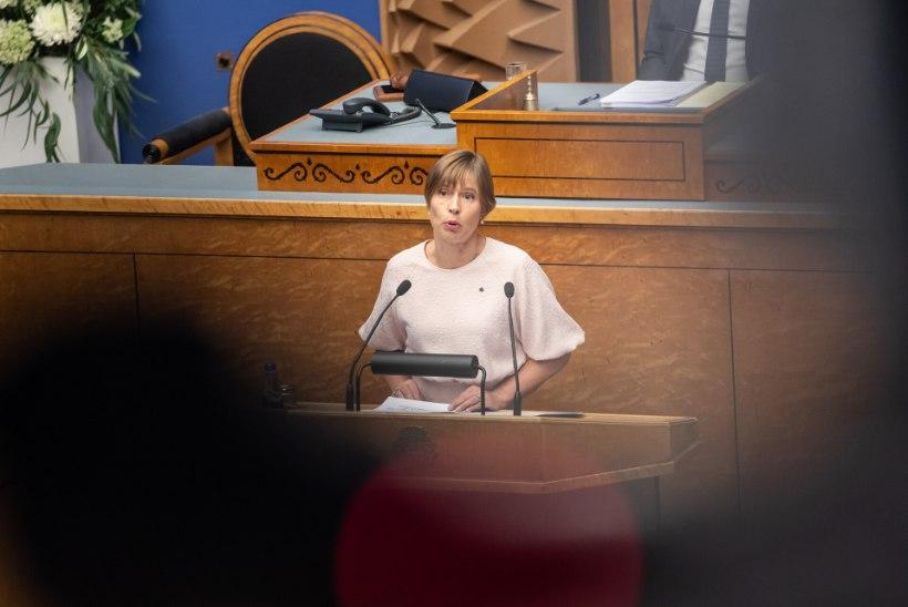 Kersti Kaljulaid   Riigikogu liikme tänane palk on ebaatraktiivne