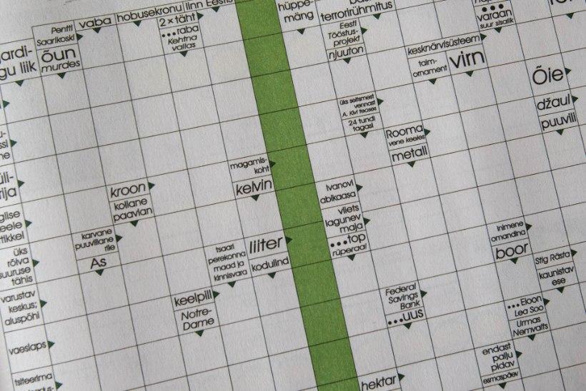 Ristiku Ristsõnad: 14. september 2021 ristsõna ja sudoku