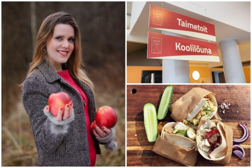 Taimetoitlastest õpilased jäävad nälga? Konflikti vältiv ema: kolm aastat olen koolis sõbralikult rääkinud, et võiks pakkuda ka veganisööki!