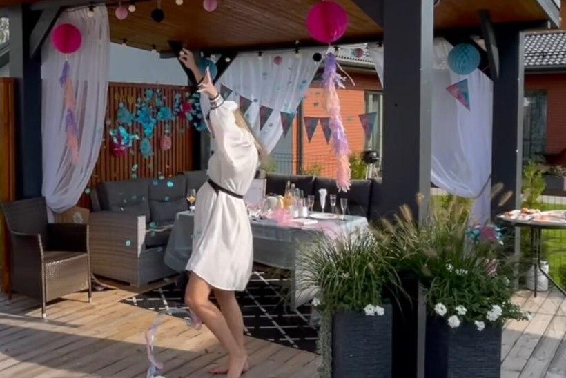 VIDEO | POISS VÕI TÜDRUK? Amani Kiivikas pidas beebi soo avaldamise pidu: see oli üle ootuste vahva!