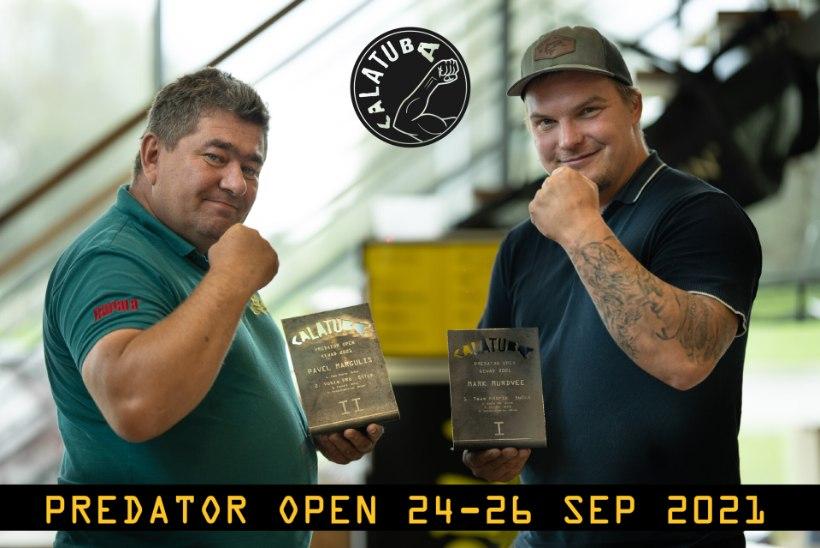 Kalatuba Predator Open: registreerida saab veel kuni kolmapäevani!