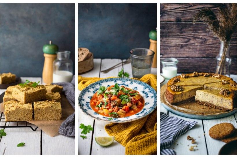 KULDSED KÕRVITSAROAD | Plaadikarask, lihavaba hautis ja kõrvitsa-juustukook