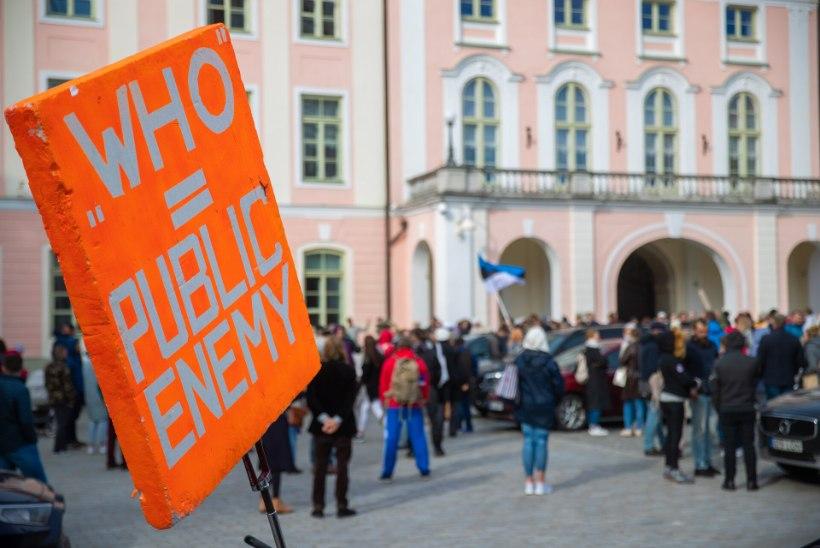 Protestiliikumine tõi ühise lipu alla nii kremlimeelsed kui ka Eesti rahvuslased