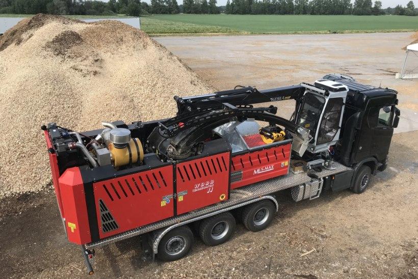 TEHNIKA METSAMEHELE | Mus-Max esitles WT 11 DLK veoauto-puiduhakkurit