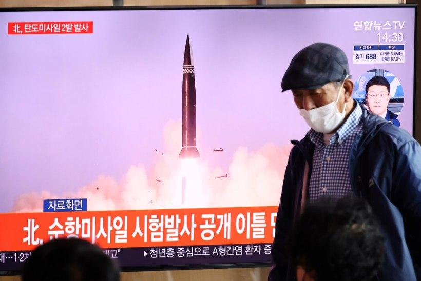 SEEKORD BALLISTILISED: Põhja-Korea korraldas taas vastuolulise raketikatsetuse