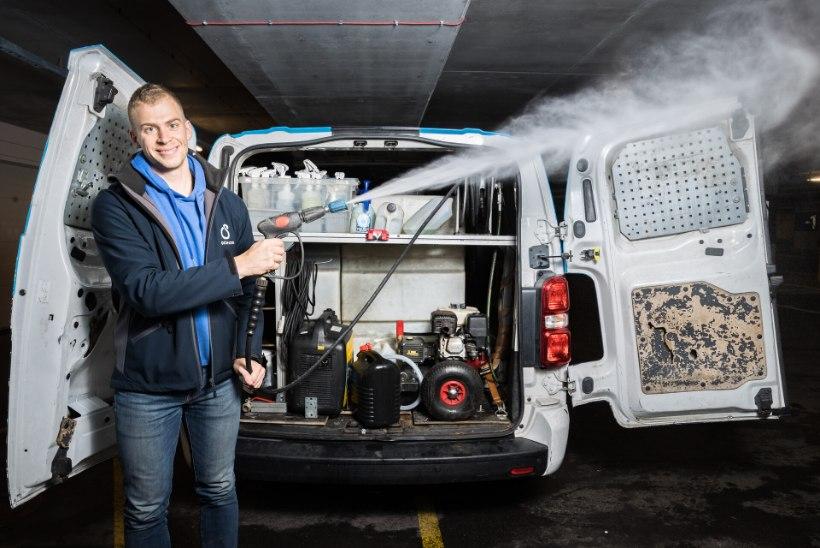 NOORED KESKKONNATÄHED | Aleksis Anijärv: keegi ei usuks, et mobiilse autopesufirma omanik sellise masinaga ringi sõidab nagu mina