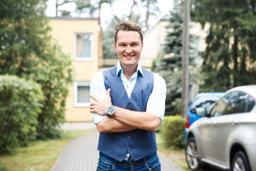 Sünnipäevalaps Lauri Hermann: olen saanud oma erilise ande laulupidude auväärselt vanaemalt
