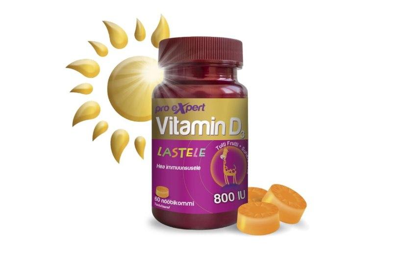 Tallinna lastehaigla lastearst selgitab: miks tuleb kindlasti imikutele ja väikelastele anda D-vitamiini?