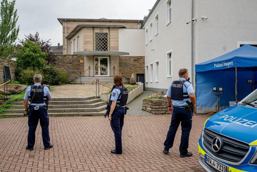 Saksamaal võeti sihtmärgiks taas sünagoog – sel korral plaanisid rünnakut islamistid
