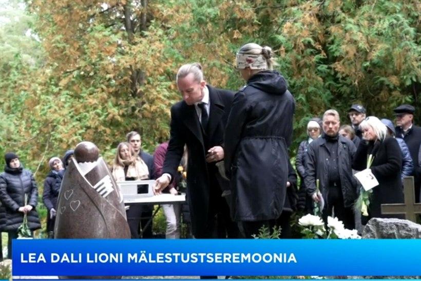 TV3 VIDEO | Haljala kalmistul jäeti hüvasti laulja Lea Dali Lioniga