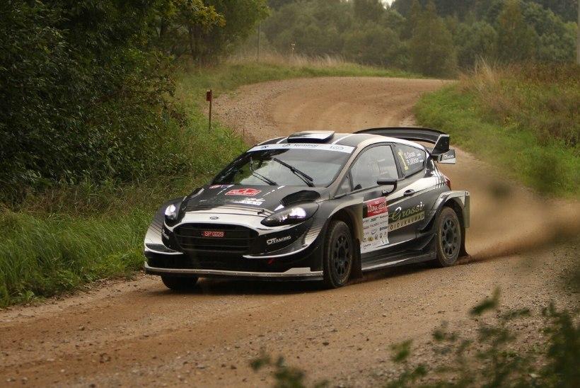 Viru ralli võitis WRC masinaga kihutanud Georg Gross