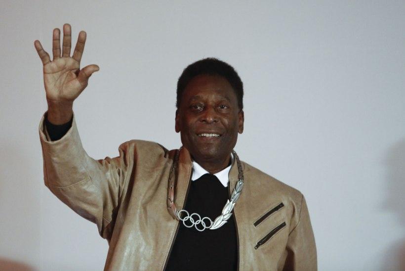 Vutilegend Pelé viidi taas intensiivravisse