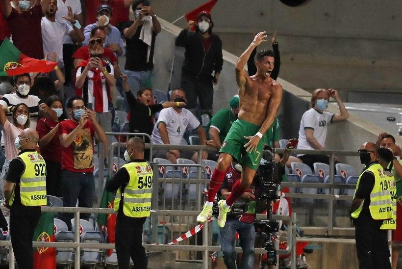 Pidurdamatust Ronaldost sai ainuisikuliselt maailmarekordimees