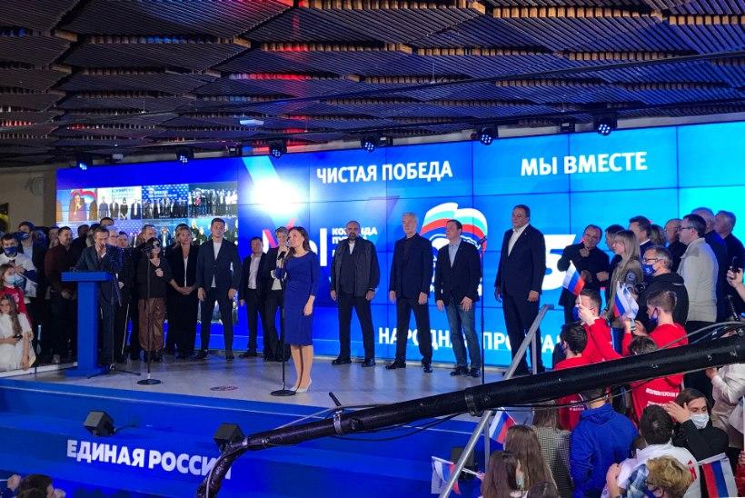 VIDEOD   VENEMAA VALIMISED: Putini partei saavutas riigiduumas taas suure enamuse, kaamerasilma ette jäi mitu kummalist valimispettust