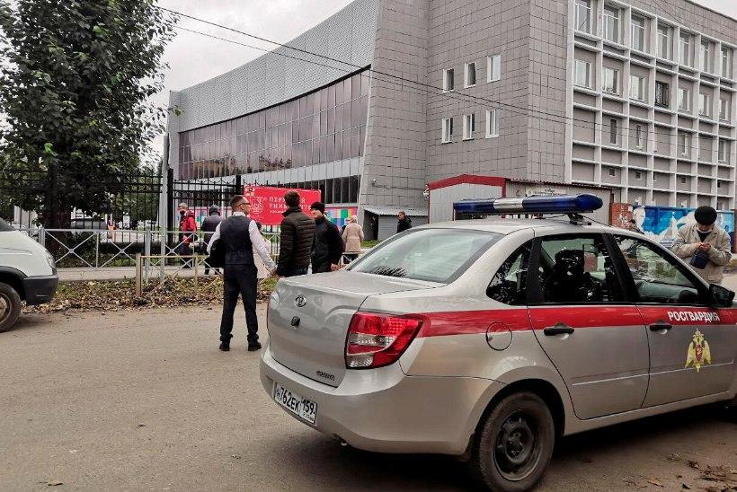 KUUS OHVRIT: Venemaa ülikoolis veresauna korraldanud noormees oli tulistamist juba kaua plaaninud