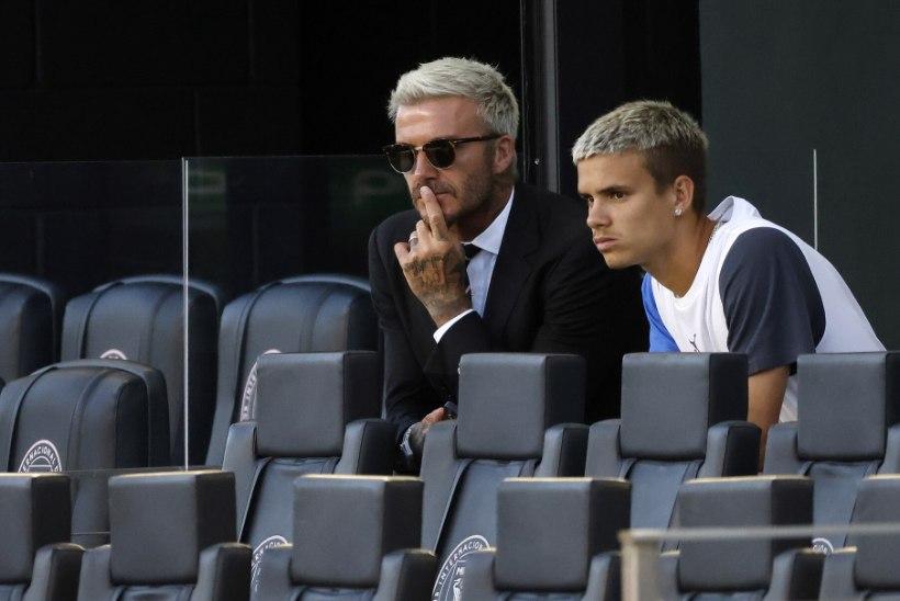 ISA JÄLGEDES? David Beckhami modellist poeg tegi papale kuuluvas meeskonnas profidebüüdi