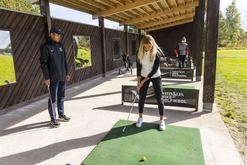 VIDEO   Liikumine annab energiasüsti: äsja tippspordiga hüvasti jätnud Saskia Alusalu tegi tutvust golfiga