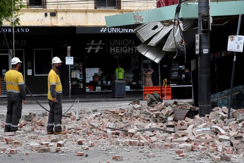 Austraalia kaguosa raputas mitmeid hooneid kahjustanud maavärin