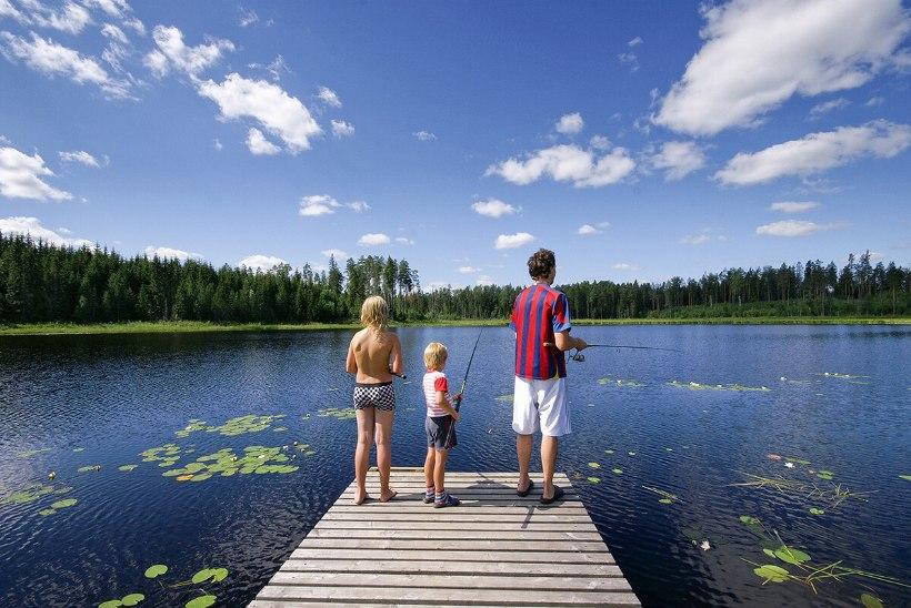 Lapsega kalale: peamine on kala saada, olgu või üksainus viidikas