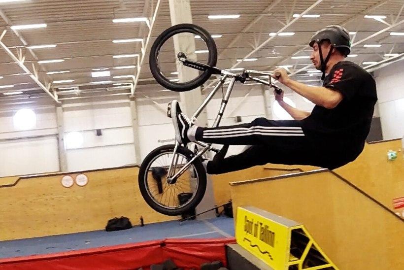 VIDEO | Kas Artjom Savitski saab BMX-rattal tagurpidi saltoga hakkama?