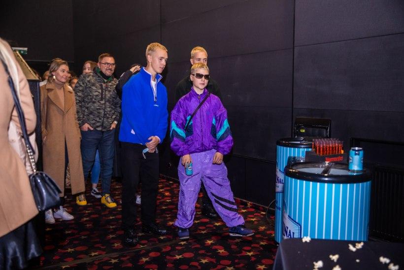 GALERII | 5MIINUST esitles uut muusikavideot kinosaalis, kaaslasteks kuulsused, longero ja tossumasin
