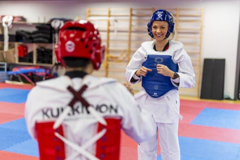 """Keili Sükijainen katsetas taekwondo'd: """"Selline tunne on, nagu poleks kunagi varem trenni teinud!"""""""