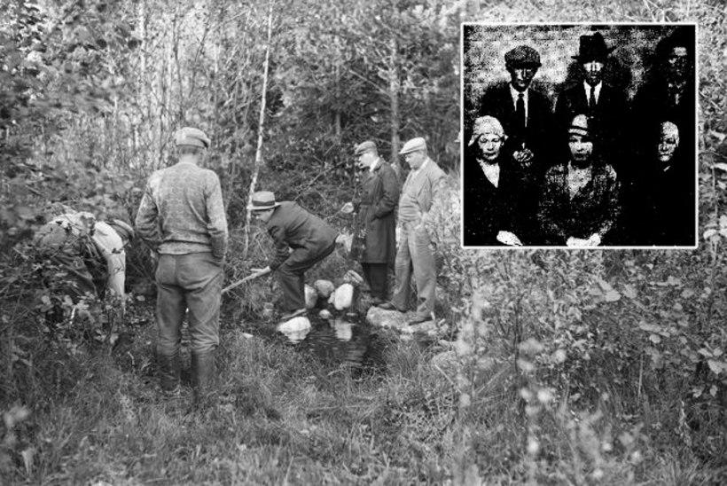 SOOME NÕIAPROTSESS: Helsingi posijad rüvetasid laipu ja korraldasid saatanlikke rituaale