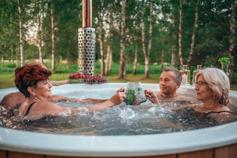 Tervist turgutav tünnisaun – ideaalne viis veeta pensionipõlv oma koduspaas, vaata miks!