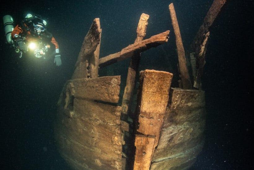 HOLLANDI LUIK: uurijad tuvastasid Eesti lähistel merepõhjas lebava laevavraki täpse vanuse