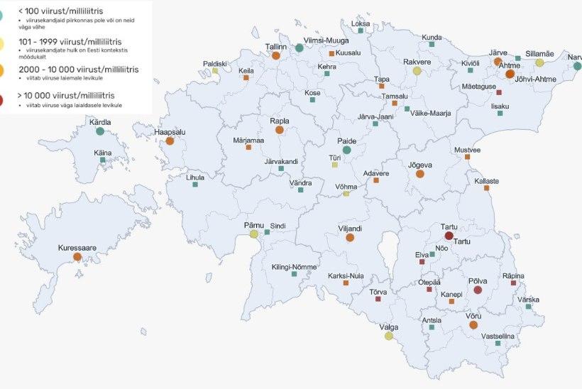 REOVEEUURING: koroonaviiruse levikuga paistab valusalt silma Lõuna-Eesti