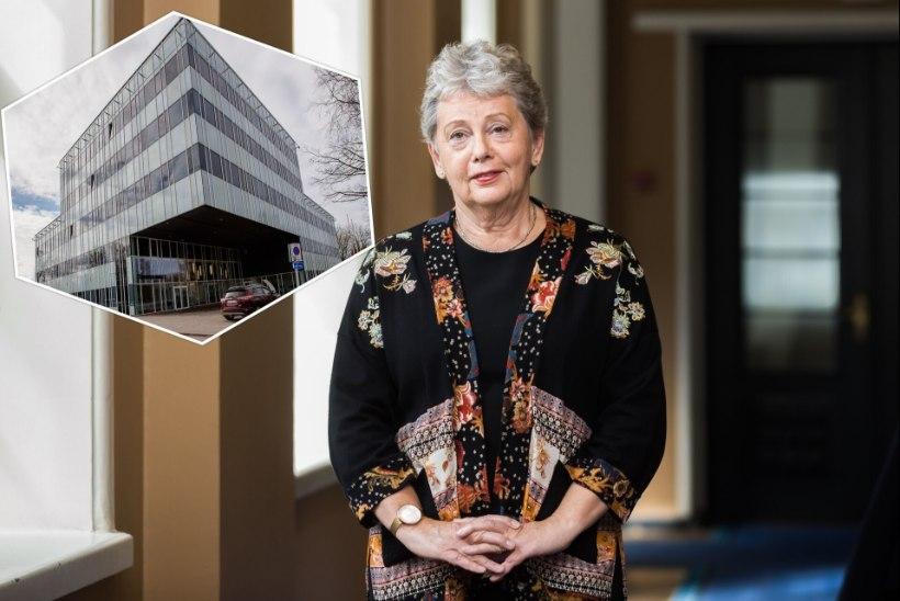 KÜLMLAO KOBARKÄKK   Terviseameti endine peadirektor Tiiu Aro: valitsusele oleks pidanud vist ütlema, et meil ei ole uut maja vaja