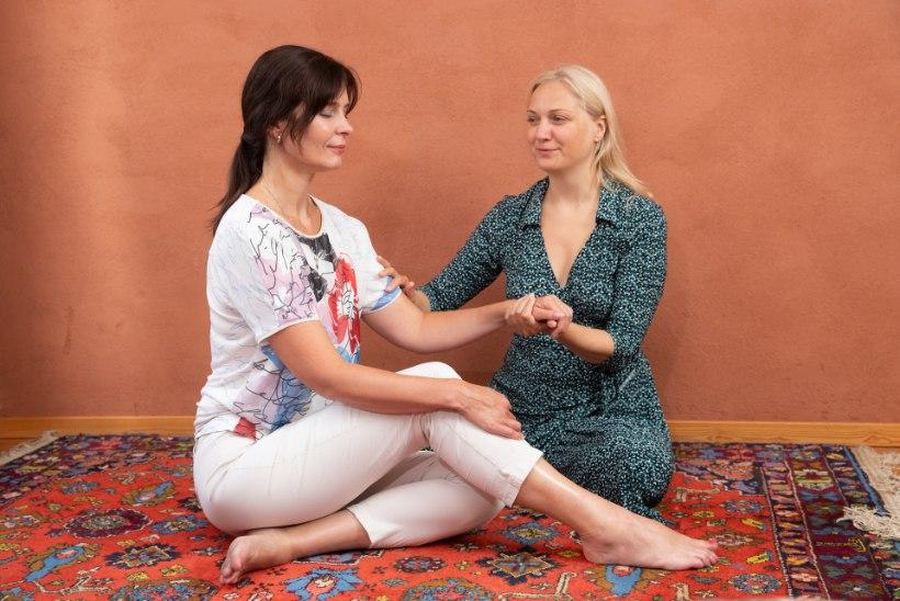 VALLANDA OMA ÕNNEHORMOONID! Proovi neid lihtsaid tantristlikke hingamis- ja puudutusharjutusi