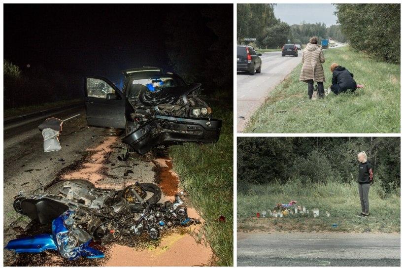 Kahe noore elu nõudnud avarii põhjuseks oli möödasõit