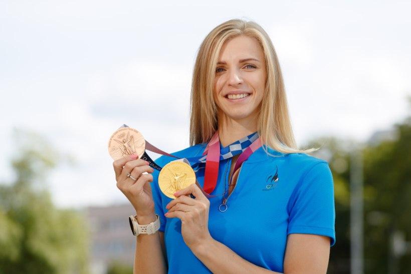 Katrina Lehis paljastas hirmsa hetke pärast olümpiavõitu