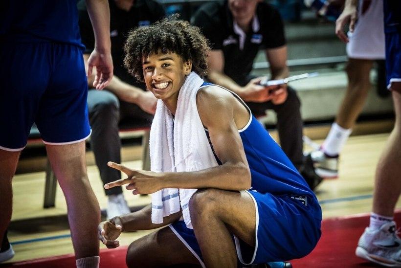 """Hollandis sirguv Eesti noortekoondislane Stephon Reece Mac Donald: """"Soovin jõuda NBAsse."""""""