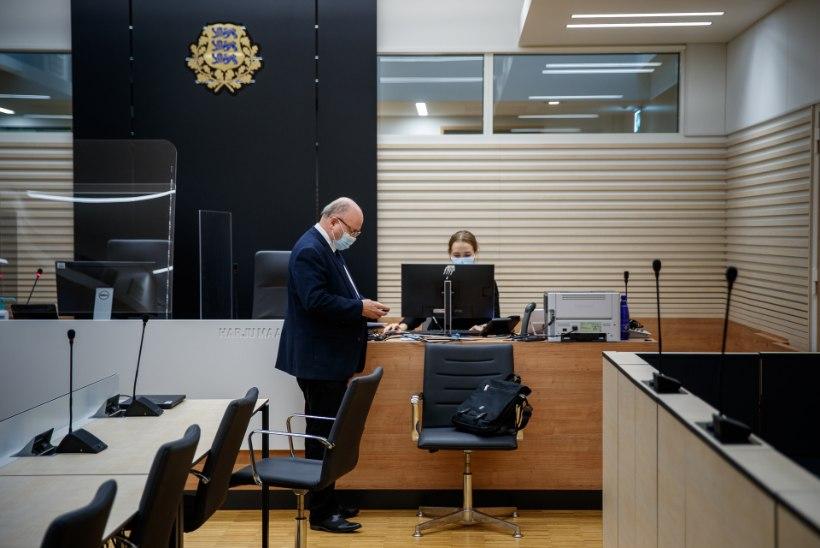 """FOTOD KOHTUST   Igor Gräzin vaidlustas plekimõlkimise eest saadud trahvi: """"Seda lihtsalt ei juhtunud!"""""""