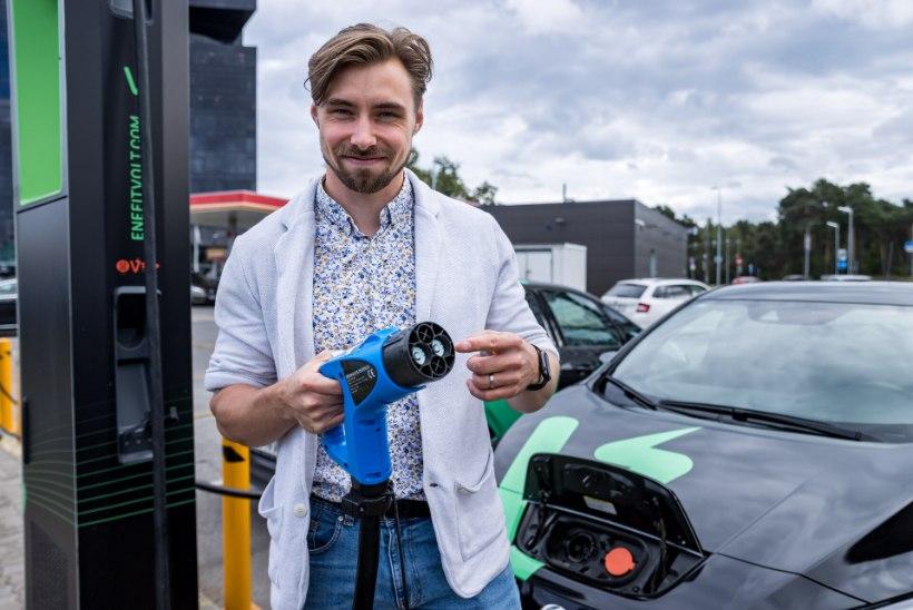 NOORED KESKKONNATÄHED   Innovaator Kert Pääbo elektriauto võludest: nii kui vajutad, nii ta läheb!